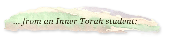 From an Inner Torah student
